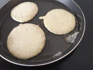 Healthy, Wheat free, Flour-less Pancakes