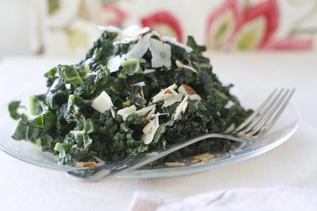 Massaged Kale Super Salad with Turmeric Chicken - My favourite recipe!