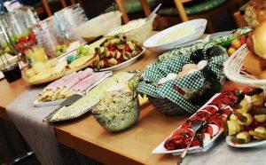 travellers tummy-hotel buffet