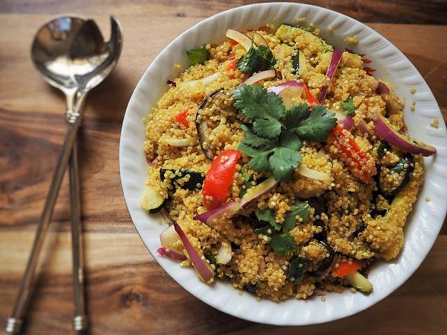 Recipes for Sugar Free February: Rainbow Quinoa Tabbouleh
