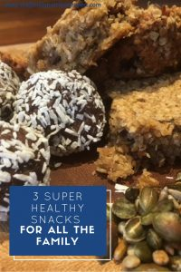 Super healthy snacks for all the family