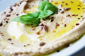 hummus - source of protein