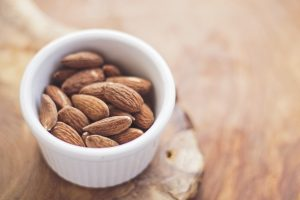 almonds - source of vegetarian and vegan protein